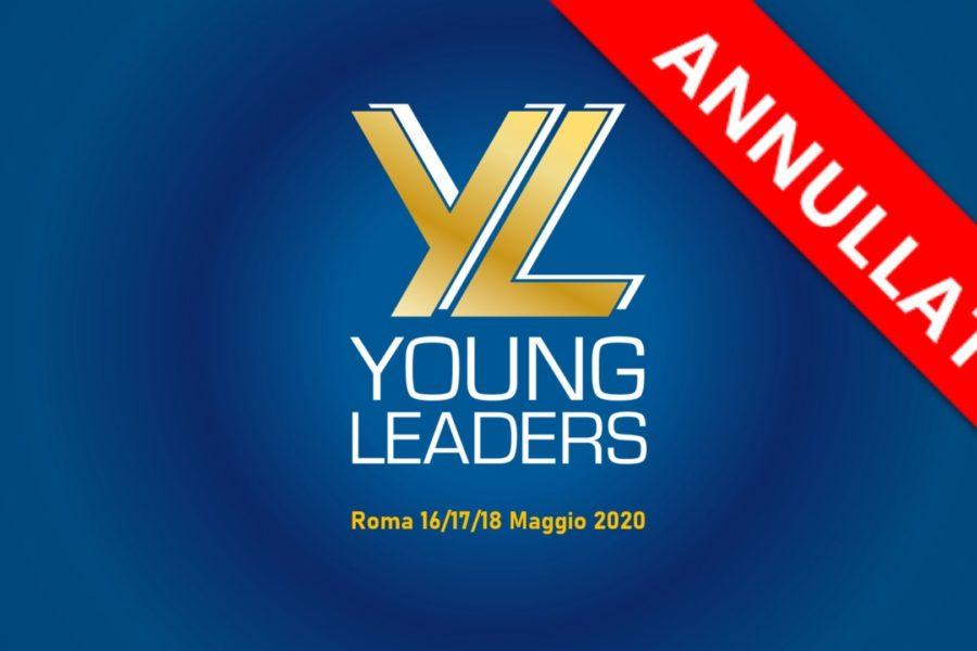 ANNULLATO EVENTO DEL PROGETTO YOUNG LEADERS ITALY